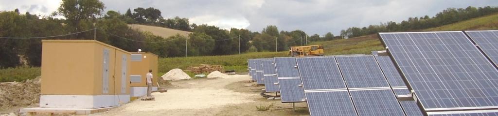 CABINE ELETTRICHE PREFABBRICATE (Impianto fotovoltaico Cassero-AN)