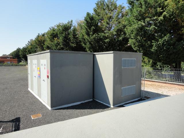 CABINE ELETTRICHE PREFABBRICATE (Impianto produzione energia elettrica Todi-PG)