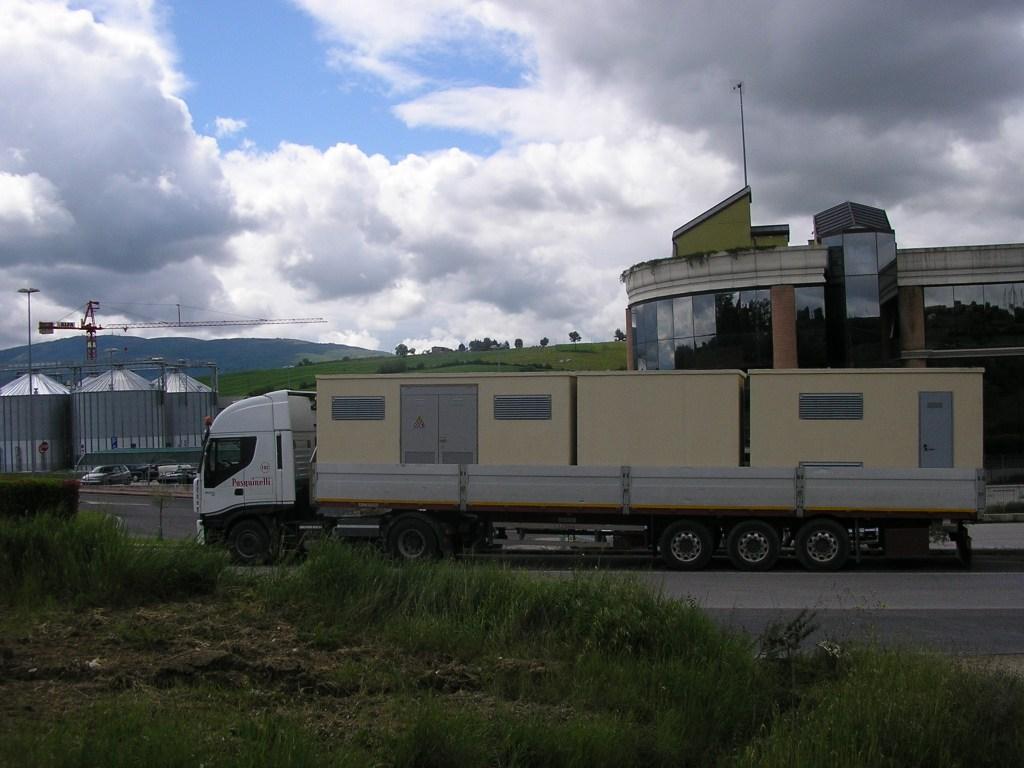 CABINE ELETTRICHE PREFABBRICATE (Trasporto)